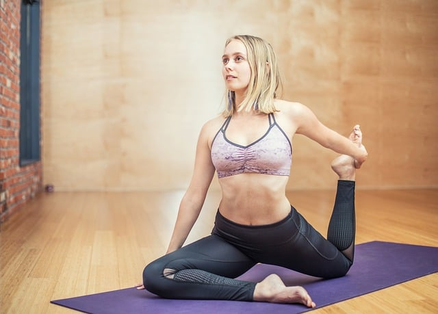 yoga and gentle stretching
