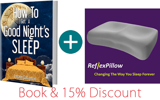 book and pillow