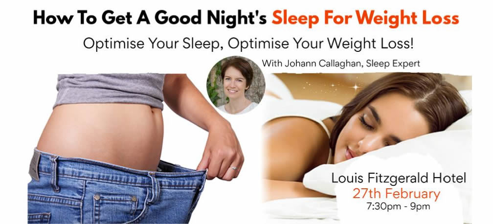 How to get a good night' sleep for weight loss