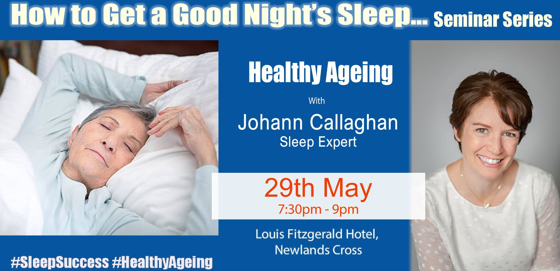 how to get a good nights sleep seminar